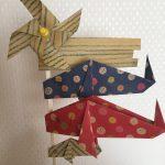 【折り紙折り方】こいのぼりを立体に可愛く♪簡単に窓際や玄関に飾ろう
