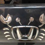 ホンダ車のエンブレムがカニで可愛い!購入方法や他の種類も紹介♪画像も